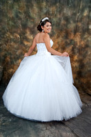quinceaneras and family pictures in Montebello, wedding and Quin