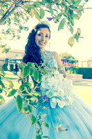 Emily Garcia Quinceaneras, sweet sixteens, Weddings photography and video at Juan Pollo Restaurant in Pomona Ca, www.gustavovillarreal.com, 323-633-8283