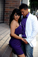 Anabel & Ismael Engagement pictures in Dysney Concert Hall (323) 633-8283 www.gustavovillarrealphotography.com