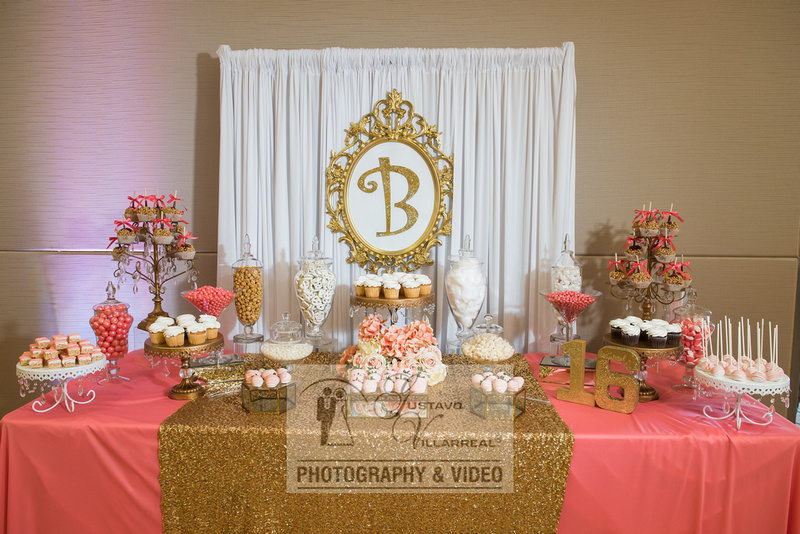 Breanna Monique quinceaneras and weddings photography and video at Brea Community Center in Brea Ca.